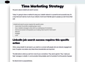 timsstrategy.com