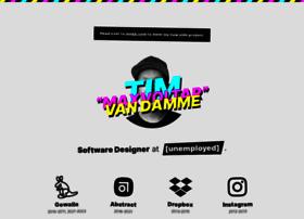 timvandamme.com
