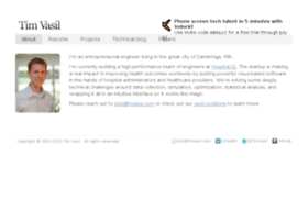 timvasil.com