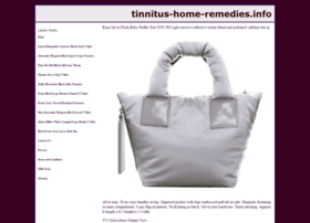 tinnitus-home-remedies.info
