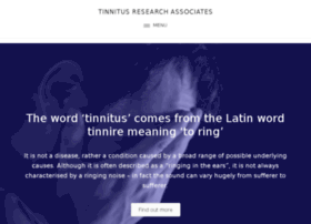 tinnitusresearchassociates.co.uk