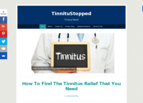tinnitustopped.com