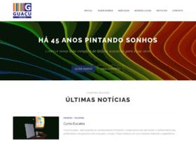 tintasguacu.com.br
