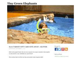 tinygreenelephants.com