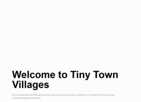 tinytownvillages.com