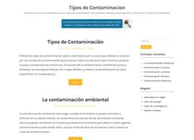 tiposdecontaminacion.com