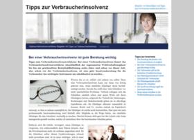 tipps-zur-verbraucherinsolvenz.de