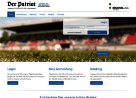 tippspiel.derpatriot.de