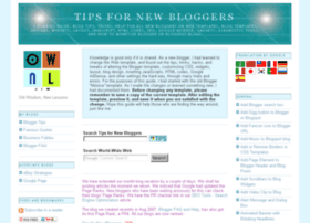 tips-for-new-bloggers.blogspot.in