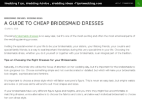 tips4wedding.com