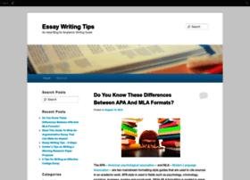 tipsforessay.edublogs.org