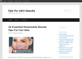 tipsforskinbeauty.blog.com