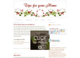 tipsforyourhome.blogspot.com