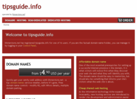 tipsguide.info