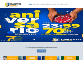 tiradentesconcursos.com.br