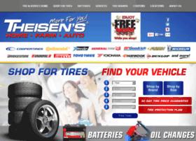 tires.theisens.com