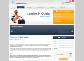 tirubalaleather.com