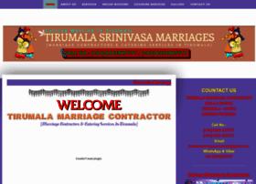 tirumalamarriagecontractor.com