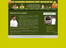 tirumalassmarriageorganization.com