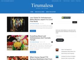 tirumalesa.com