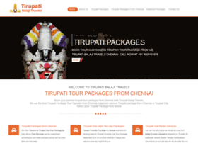 tirupatibalajitravels.com