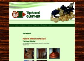 tischlerei-guenther.com