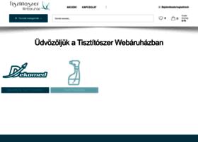tisztitoszer-webaruhaz.hu