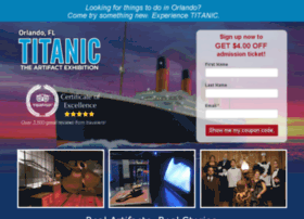 titanictheexperience.com