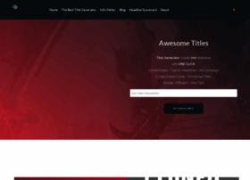 title-generator.com