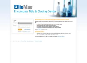 titlecenter.elliemae.com