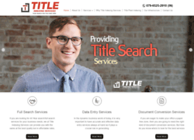 titleindexingservices.com