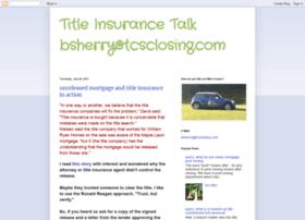 titleinsurancetalk.blogspot.com