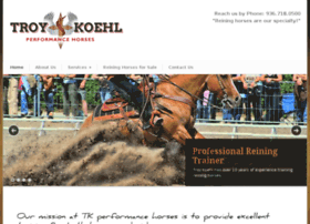 tkperformancehorses.com