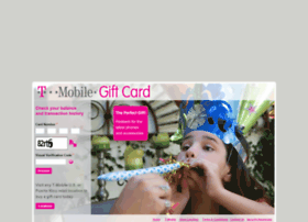 tmobilegiftcard.mycardplace.com