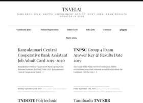 tnvelai.com