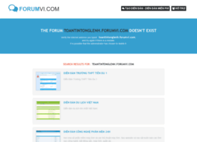 toantintonglenh.forumvi.com