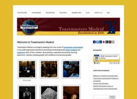 toastmastersmadrid.com