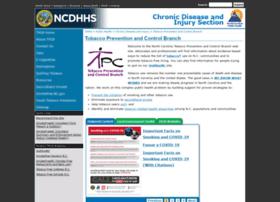 tobaccopreventionandcontrol.ncdhhs.gov