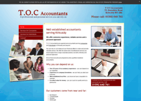 tocaccountantskirkcaldy.co.uk
