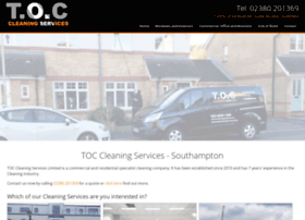 toccleaningservices.co.uk