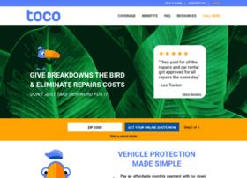 Tocowarranty-mechanicalbreakdowncoverage.com