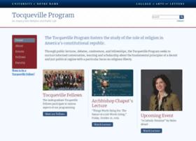 tocqueville.nd.edu