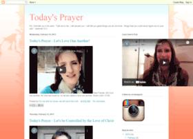 todays-prayer.blogspot.com