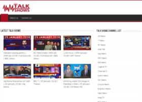 todaytalkshows.com