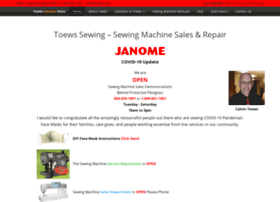 toewssewing.com