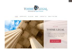 tohmelegal.com