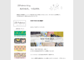 tokachi.233fabrics.com