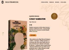 tokarczuk.wydawnictwoliterackie.pl