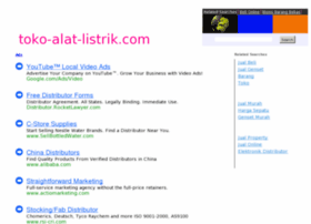 Listrik 2012 Websites And Posts On Daftar Harga Peralatan Listrik 2012