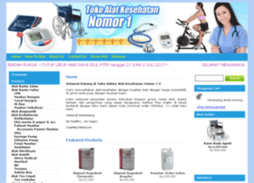 tokoalatkesehatannomor1.com